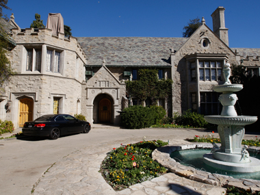 The Playboy mansion. Reuters