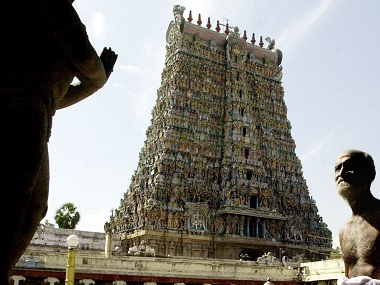 Meenakshi temple in Madurai. AFP