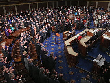 File image of US House of Representatives. Getty Images