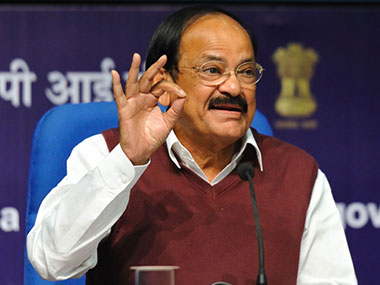 Union Uraban Development Minister Venkaiah Naidu. Naresh Sharma/Firstpost