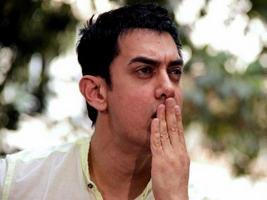 Aamir Khan in a file photo. AFP