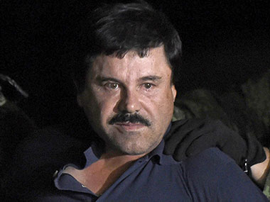 El Chapo has been re-captured by Mexican authorities. AFP