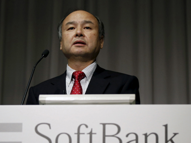 SoftBank Group Corp. Chairman and CEO Masayoshi Son. Reutrers