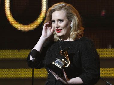 Adele. Reuters