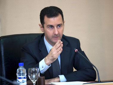 File photo of Assad. Reuters