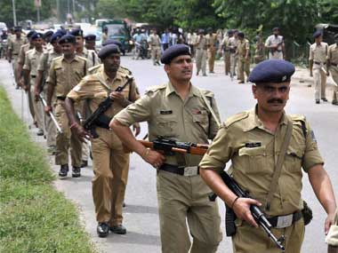 Bihar police. File photo. PTI