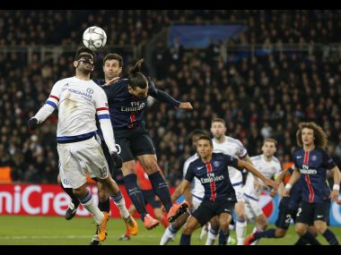 Edinson Cavani came off the bench to score the winner as PSG beat Chelsea. AP