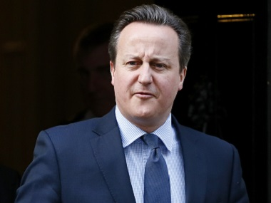 Britain's Prime Minister Davvid Cameron leaves 10 Downing Street to travel to the Houses of Parliament. Reuters