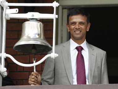 File photo of Rahul Dravid. AFP