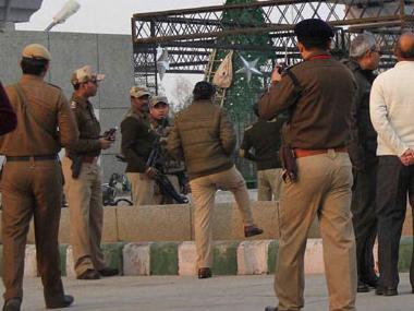 Gurgaon police. File photo. PTI