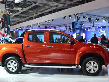 Isuzu Motor India unviels D-MAX V-Cross