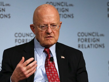 Director of U.S. National Intelligence James Clapper in a file photo. Reuters