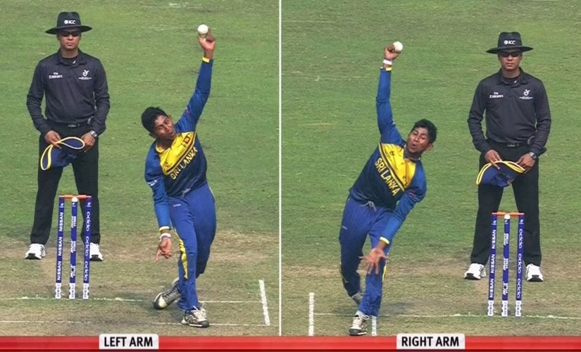 Why not let ambidextrous bowlers innovate as switch-hitters do? Cricket needs more of Mendis, Karnewar