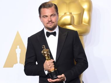 Leonardo DiCaprio finally won an Oscar. Getty Images