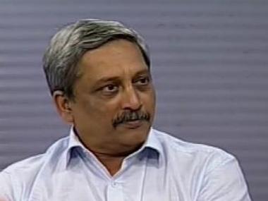 Manohar Parrikar. File photo. Image courtesy: ibnlive