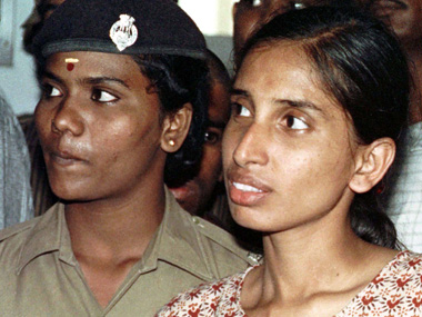 File photo of Nalini. Reuters