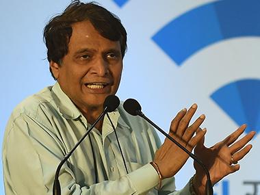 Suresh Prabhu. File photo. AFP