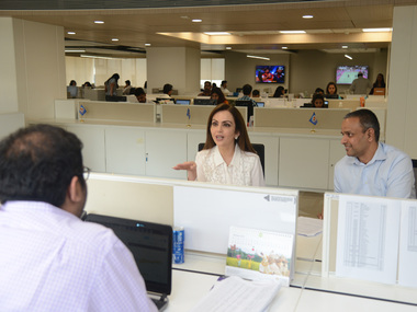 Reliance open office is a trail blazer in Indian corporate culture, say media reports