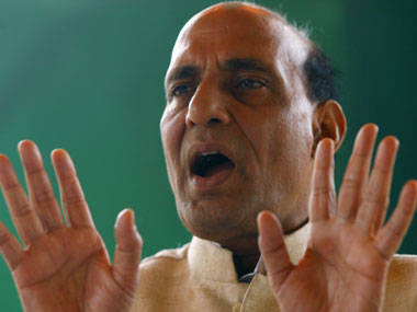 Home Minister Rajnath Singh. Reuters