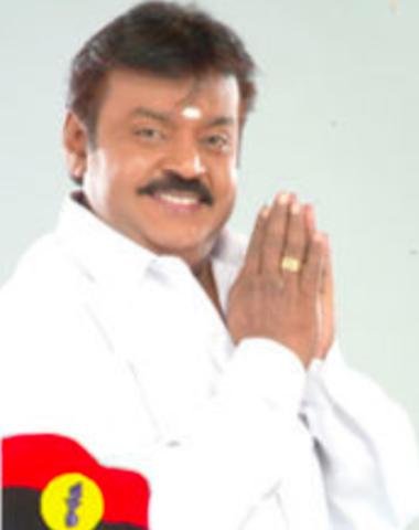 DMDK chief Vijayakanth/ Screenshot from Twitter page