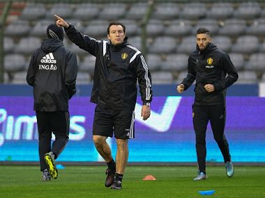 File Photo of Belgium Football team's training. GettyImages