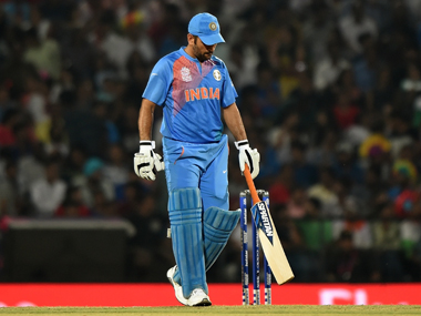 Dhoni blamed his batsmen for the loss. AFP