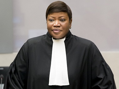 Chief Prosecutor Fatou Bensouda. AP