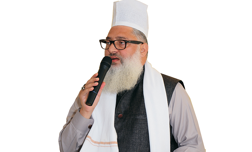 Hazrat Syed Muhammad Ashraf, the founder and president of AIUMB