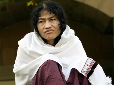 Irom Sharmila in a file photo. Reuters