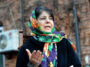 Ending uncertainty: Mehbooba Mufti set to take over as  J K CM after BJP allows a face saver