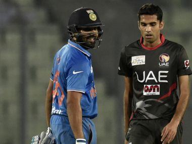 Rohit Sharma was the Man of the Match. AFP