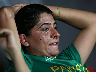 Pakistan Women's team captain, Sana Mir. GettyImages