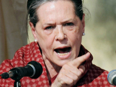 A file photo of Sonia Gandhi. PTI