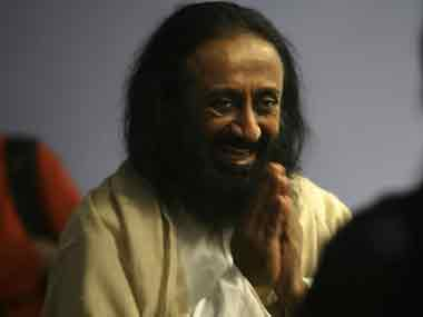Sri Sri Ravi Shankar in a file photo. AFP
