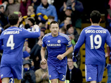 Chelsea captain John Terry. AP