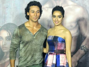 Tiger Shroff and Shraddha Kapoor. Image by Sachin Gokhale