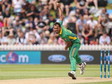 ICC World T20: Pakistan pacer Wahab Riaz hit by a ball in training, undergoes precautionary scan