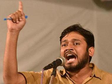 JNUSU President. Kanhaiya Kumar. IBNLIVE