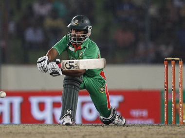 File picture of Tamim Iqbal. AP
