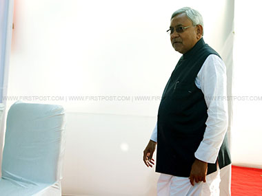 Bihar Chief Minister Nitish Kumar. Image courtesy: Naresh Sharma/Firstpost