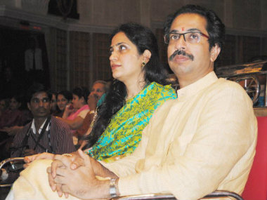 File photo of Udhav Thackeray and wife Rashmi. Getty Images