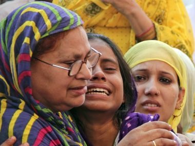 Akhlaq's family. File photo. Reuters