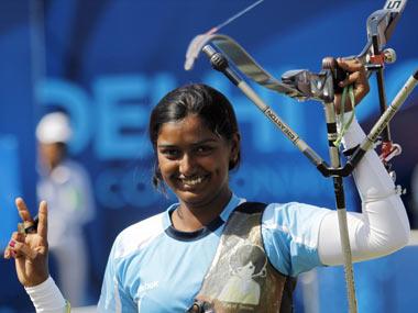 Deepika Kumari. Reuters