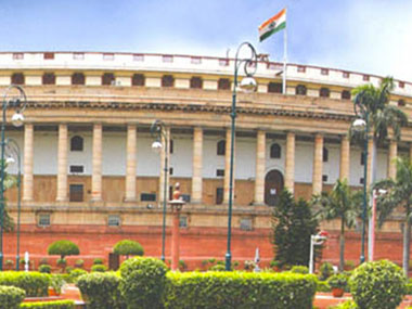 Parliament building. Image courtesy: parliamentofindia.nic.in