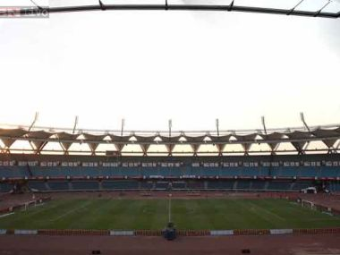 Power failure at jln stadium leads to first leg of indian for Farcical failure