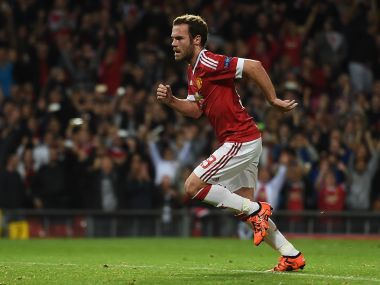 Juan Mata of Manchester United. AFP