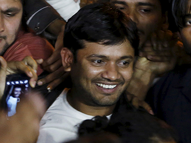 File photo of JNUSU president Kanhaiya Kumar. Reuters