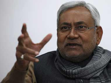 A file photo of Nitish Kumar. PTI