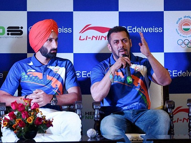Salman at Rio: Milkha Singh asks IOA to reconsider, Hema Malini backs Bollywood star