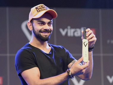 Virat Kohli at the event. PTI
